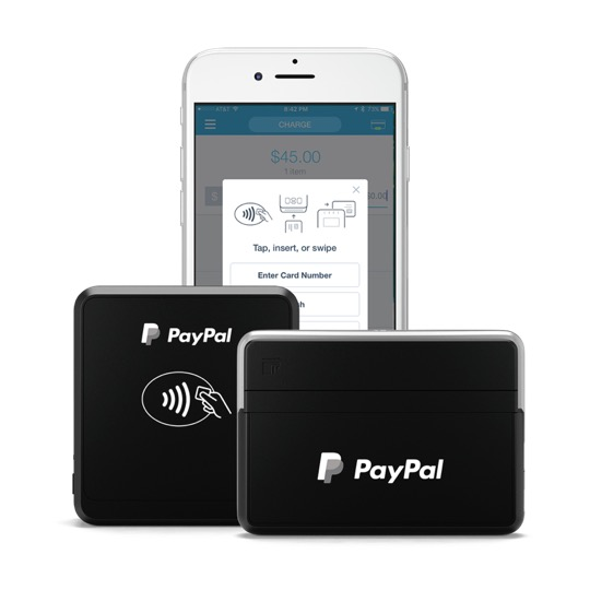 PayPal Here card readers