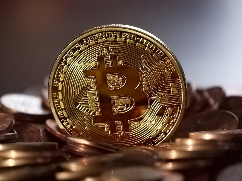 Bitcoin golden coin